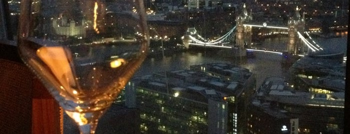 Oblix at The Shard is one of My London.