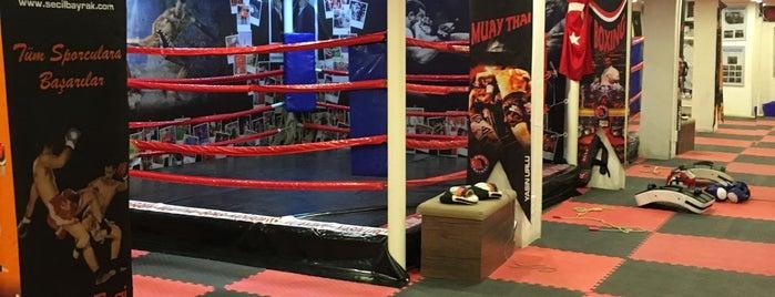 Lara Kickbox & Muay Thai Profesyonellerin Adresi is one of Orte, die Onur gefallen.