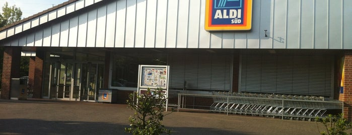 ALDI SÜD is one of Lieux qui ont plu à Jörg.