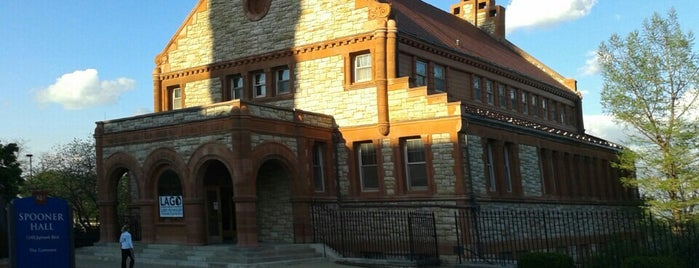 Spooner Hall is one of ouro.