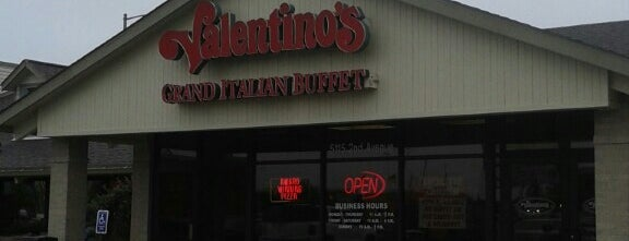 Valentinos is one of Kearney Eats.