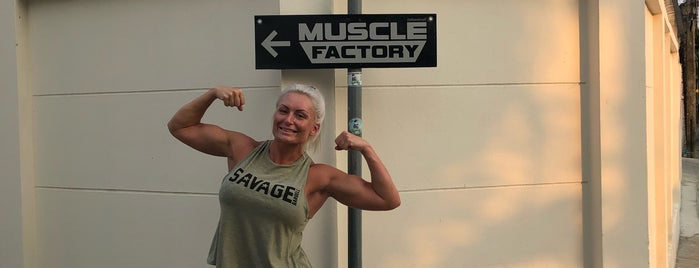 Muscle Factory is one of Tempat yang Disukai Oo.