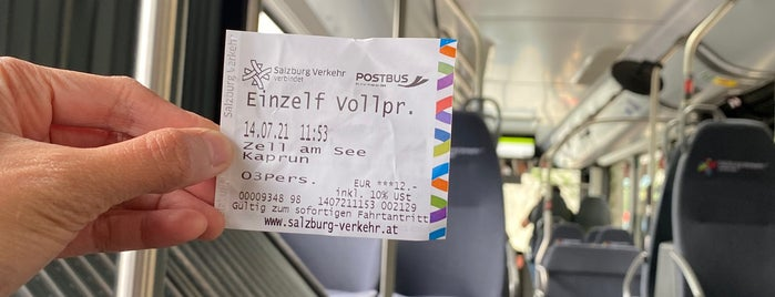 Bahnhof Zell am See is one of Tempat yang Disukai Reema.
