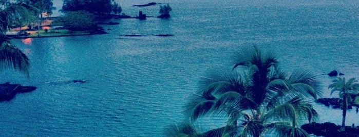 Castle Hilo Hawaiian Hotel is one of Tempat yang Disukai Vlad.