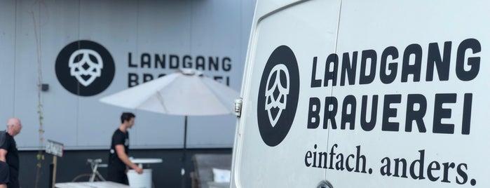 Landgang Brauerei is one of Ausgehen in Hamburg.