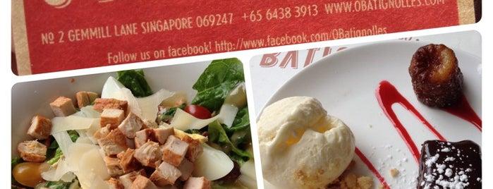 Ô BATIGNOLLES Wine Bar is one of Singapura.