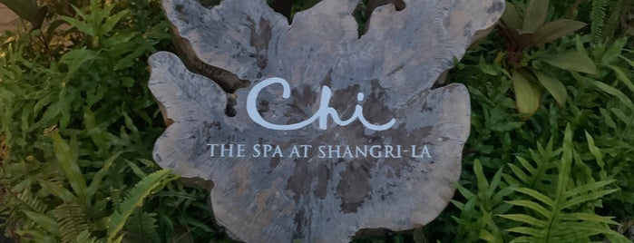 Chi Spa At Shangrila Resort is one of Murituis.