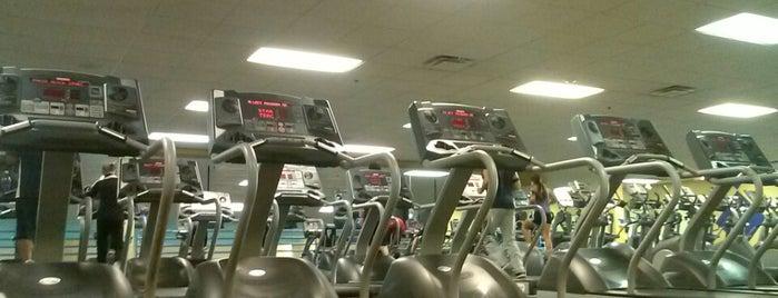 LA Fitness is one of Locais salvos de Mike.