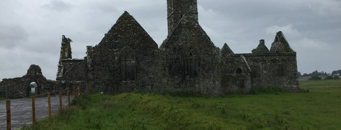 Ross Errilly Friary is one of IRELAND.