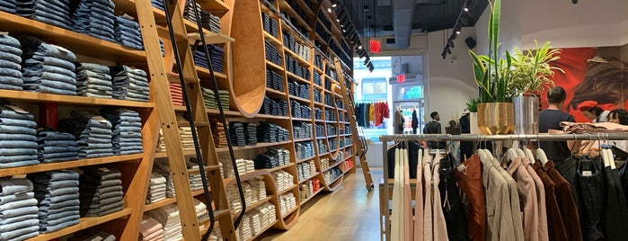 AG JEANS SOHO is one of NY stores.