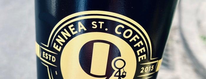 Ennea St Coffee is one of Lugares favoritos de Spiridoula.