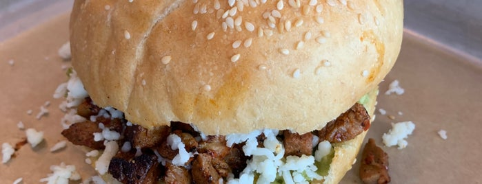 Cemitas Puebla is one of Thrillist Chicago Taco Bucket List.