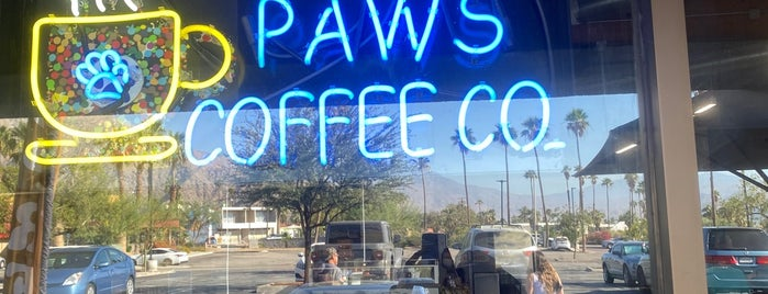 4 Paws Coffee Co. is one of Palm Springs.