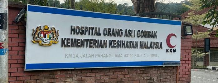 Hospital Orang Asli Gombak (Kementerian Kesihatan Malaysia) is one of Malaysia.