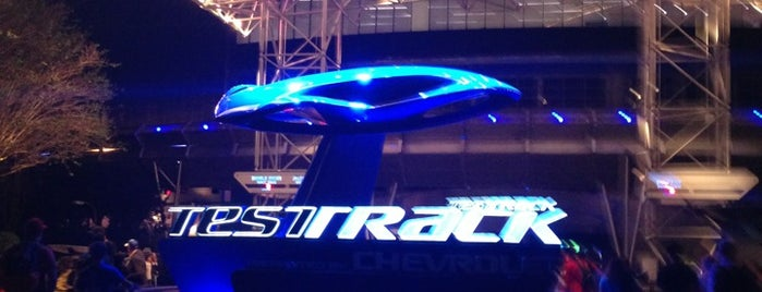 Test Track Presented by Chevrolet is one of Walt Disney World.