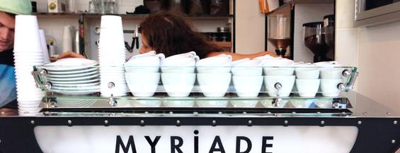 Café Myriade is one of Coffee.