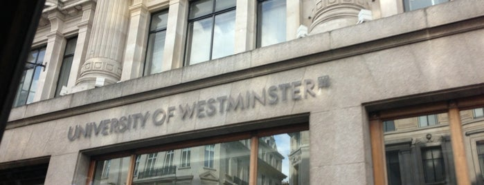 University of Westminster is one of Dade'nin Beğendiği Mekanlar.