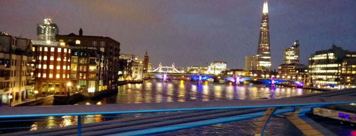 Millennium Bridge is one of London Town.
