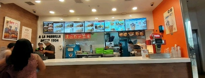 Burger King is one of Peru.