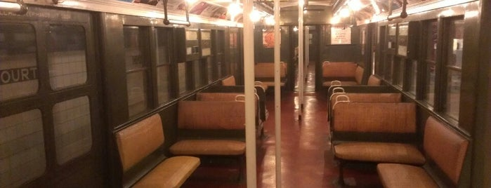 New York Transit Museum is one of New York: Where to Go.