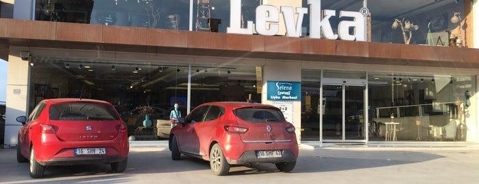 Levka Mobilya is one of Locais curtidos por İdil.