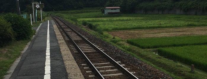 矢越駅 is one of JR 키타토호쿠지방역 (JR 北東北地方の駅).