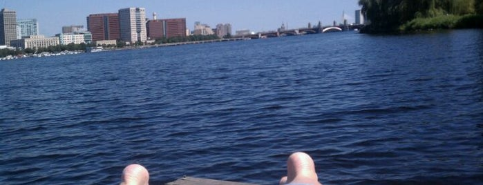 East Dock On The Esplanade is one of Boston Must Do.