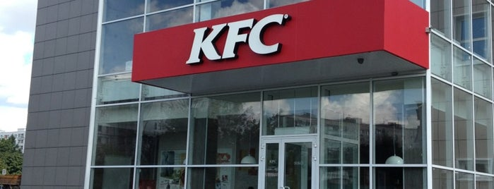 KFC is one of Сашулькаさんのお気に入りスポット.