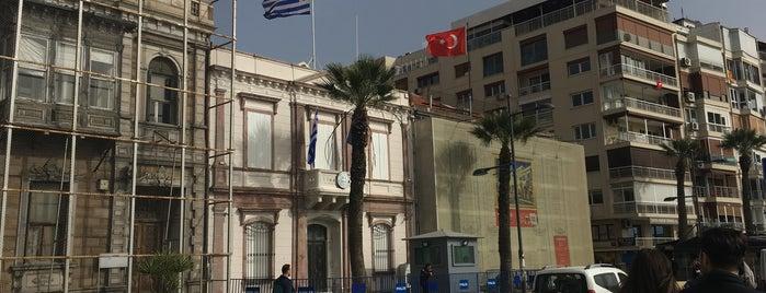 Yunanistan Başkonsolosluğu is one of สถานที่ที่ Mehmet Ali ถูกใจ.