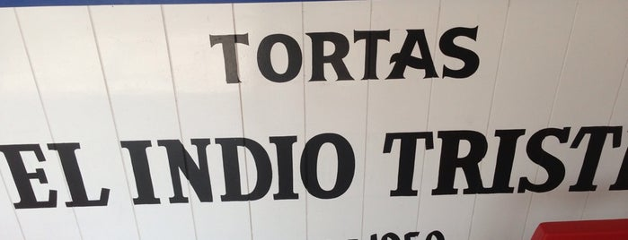 Tortas Del Indio Triste is one of Posti salvati di Mayra.