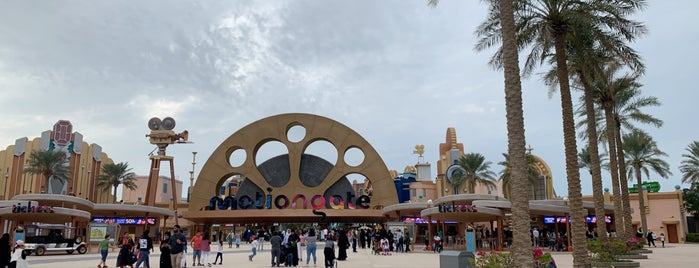 Motiongate is one of DUBAI - Parks And Attractions.