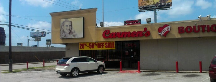 Carmen's Love Boutique is one of Tellie's Liked Places.