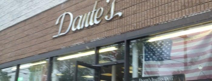 Dante's Italian Deli is one of Jersey Eats.