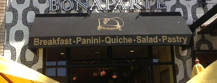 Café Bonaparte is one of Favorite affordable date spots.