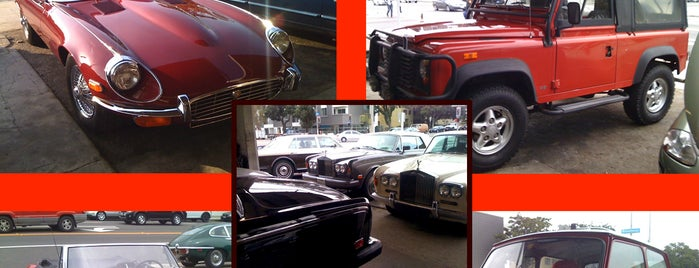British Car Clinic is one of The Favored Science and Place.