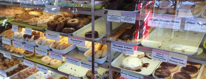 DK's Donuts and Bakery is one of All about the food and beverage.