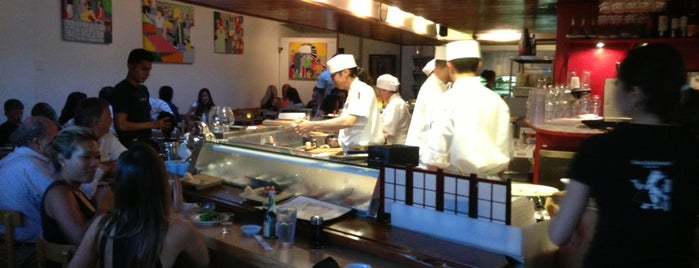 Hama Sushi is one of The Favored Science and Place.