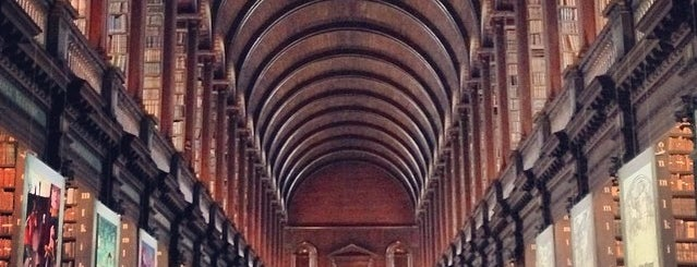 Trinity College is one of Dublin Essentials for PaperPaper.ru.