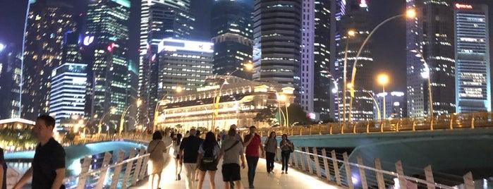 Jubilee Bridge is one of Best of Singapore.