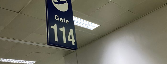 Gate 114 is one of Lieux qui ont plu à Shank.