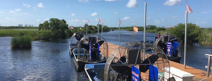 Everglades Private Airboat Tours is one of Melissa 님이 좋아한 장소.