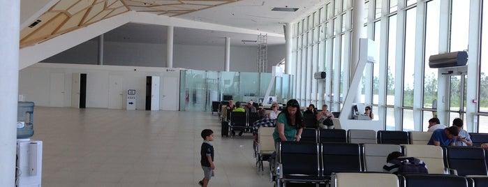 Kutaisi International Airport (KUT) | ქუთაისის საერთაშორისო  აეროპორტი is one of Михаилさんのお気に入りスポット.