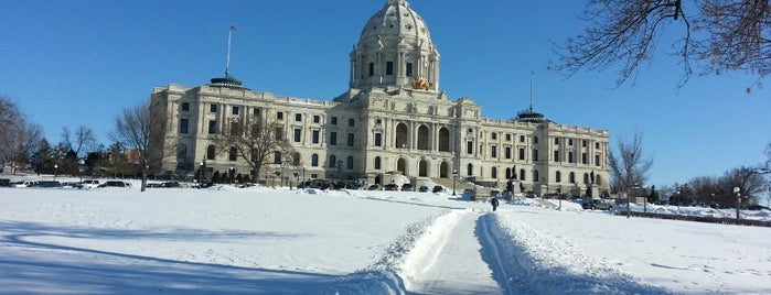 Minnesota State Capitol is one of Twin Cities Kid Friendly.