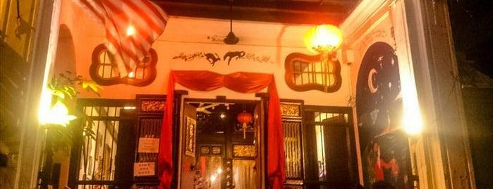 ME.n.U Cafe & Lodge is one of Cafe Hop PG.