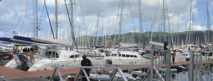 Marina du Marin is one of Tempat yang Disukai Xander.