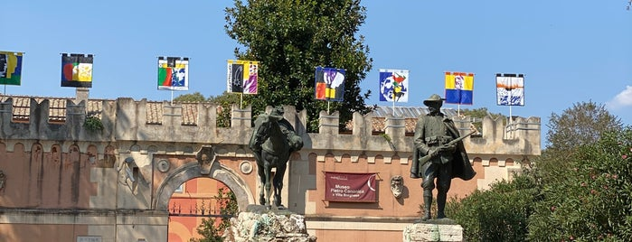 Museo Pietro Canonica a Villa Borghese is one of ROME - ITALY.