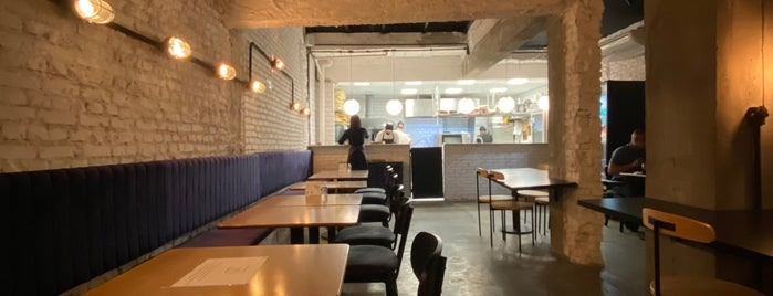 Qt Pizza Bar is one of rest sp.