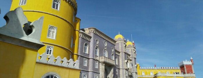 Palácio da Pena is one of Euro Trip.