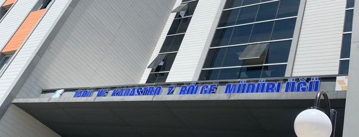 Tapu ve Kadastro VII. Bölge Müdürlüğü is one of Orte, die Tuğba gefallen.