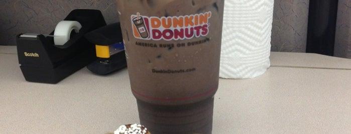 Dunkin' is one of Cinci Work Food.